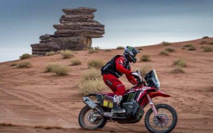 Monster Energy Honda Team's Benavides takes command of Dakar Rally with 2 days to go
