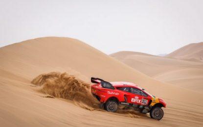 5th place overall for Bahrain Raid Xtreme 'Hunter' driver, Nani Roma