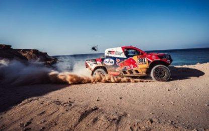 Frustration for TOYOTA GAZOO Racing as Punctures halt progress