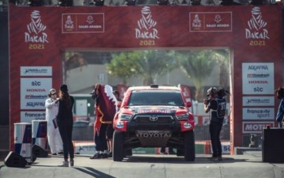 Akio Toyoda praises Toyota Gazoo Racing & Hino Sugawara Team on Dakar Rally 2021