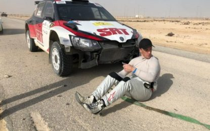 Meeke in trouble as Nasser Saleh Al-Attiyah takes command: Fulton co-drives to 2nd overall