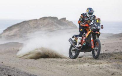 Matthias Walkner performs best for Red Bull KTM Factory Racing on Dakar SS10