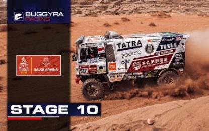 Short but difficult: Stage 10 Dakar Rally 2021 for Buggyra Racing