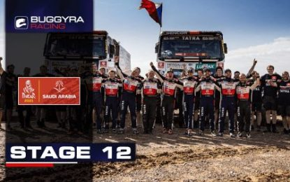 Buggyra Racing team wins, Macháček joins giants of Dakar!
