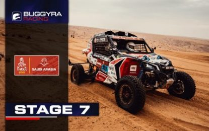 Buggyra Racing on Dakar SS7: Macháček moves up to 3rd, Casale calls for helicopter