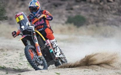 Sam Sunderland 3rd for Red Bull KTM Factory Racing on 2021 Dakar Rally