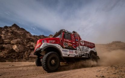 Dakar 2021: Aleš Loprais fought until last kilometres in the Praga V4S DKR