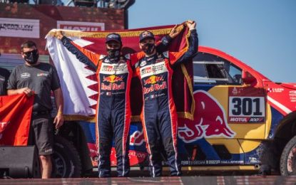 4WD honours & 2nd overall for Toyota Gazoo's Nasser Al-Attiyah/Mathieu Baumel