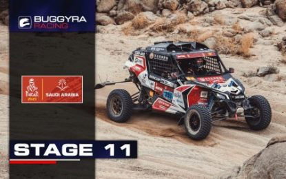Buggyra keeps pushing after longest penultimate stage of Dakar Rally 2021 is over