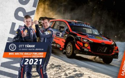TÄNAK wins Arctic Rally Finland – Breen 4th overall; 2nd on Power Stage