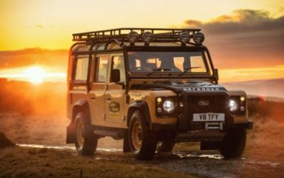 Land Rover Defender Works V8 Trophy celebrates expedition legacy with unique experience