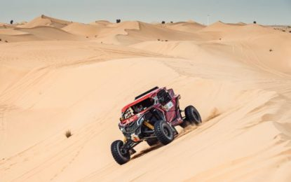 South Racing Can-Am Teams perform well at Dubai International Baja