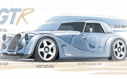 Morgan Plus 8 GTR revealed