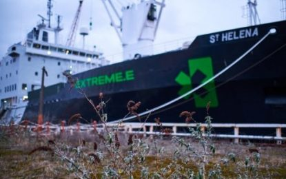 Extreme E's ship prepares to set sail for opening race on 3-4 April in Saudi Arabia