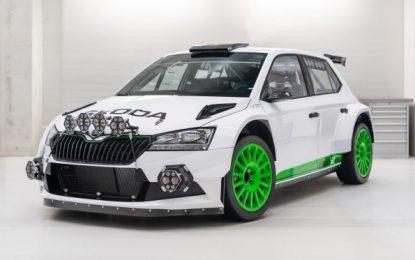 ŠKODA Motorsport celebrates 120th anniversary with limited ŠKODA Fabia Rally2 evo Edition 120