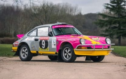 Porsche 911 Carrera 2.7 MFI Coupe Rally car driven by Billy Coleman on sale by Silverstone Auctions