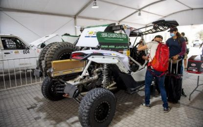 Dania Akeel: First ever Saudi female to tackle an International rally at Sharqiyah International Baja