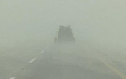 Strong winds, shifting sand and poor visibility force cancellation opening of Sharqiyah International Baja Toyota