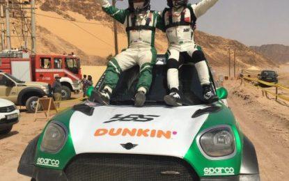 Jordan Baja: Seaidan (Mini John Cooper World Rally) makes it two wins in a row