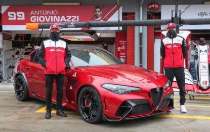 Debut of the Alfa Romeo Giulia GTAm on the Italian & International stage