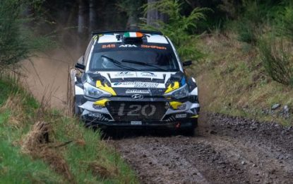 McErlean stuns with 3rd overall at the Olympus Rally in the US