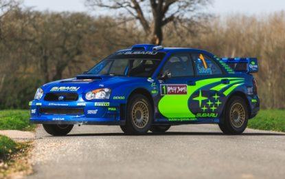 Auction Sale: Rally Japan-winning 2004 Subaru Impreza S10 WRC – ex Petter Solberg