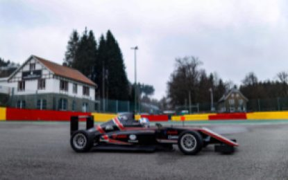 Alex Dunne competes in the first three rounds of the Spanish Formula 4 Championship