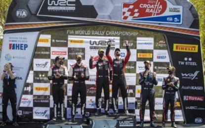Incredible finish delivers TOYOTA GAZOO Racing 1-2 at Croatia WRC Rally