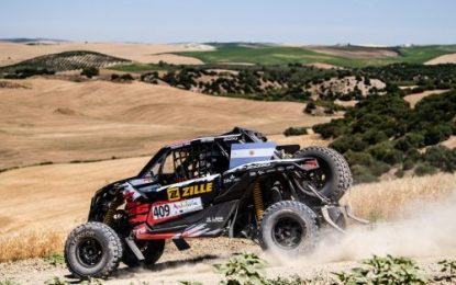Jones wins T4 on Andalucia Rally – 2021 FIA World Cup for Cross-Country Rallies, Rd 1
