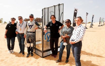 Innovative plastic pollution solution revealed at Extreme E's Ocean X Prix