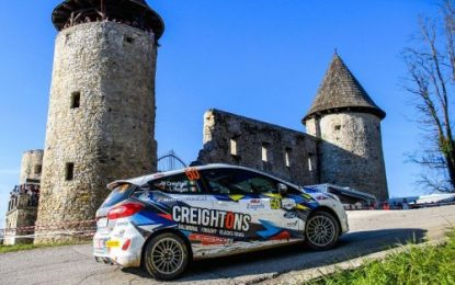 William Creighton unveils Junior British Rally Championship return