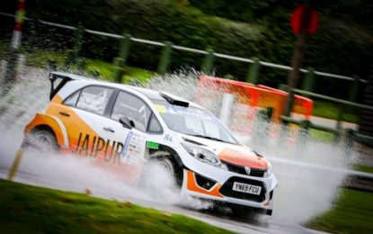 Oulton opens 2021 British Rally Championship account