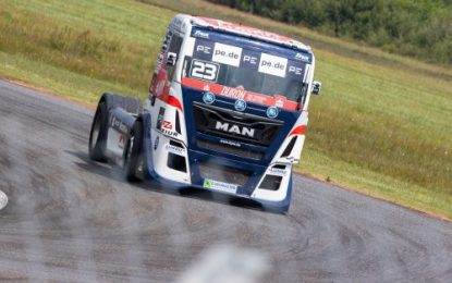 T Sport Bernau MAN's first taste of HVO biodiesel in pre-ETRC test session