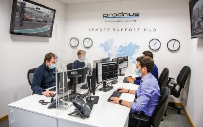 Prodrive supports global events from HQ in Banbury, GB