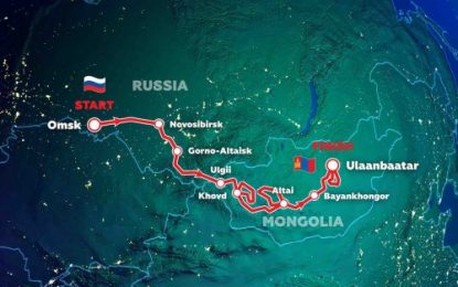 Silk Way Rally 2021: Route of Friendship from Russia to Mongolia