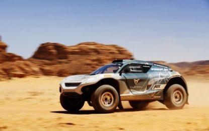 Extreme E set for Ocean X Prix at Dakar
