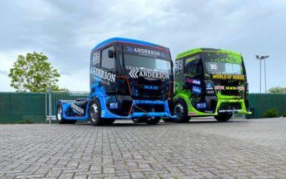 Jamie Anderson's all-new SL Trucksport 30-built MAN will contest ETSC with Sascha Lenz as Team Löwenpower