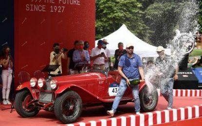 1000 Miglia 2021 comes to an end: Alfa Romeo takes victory