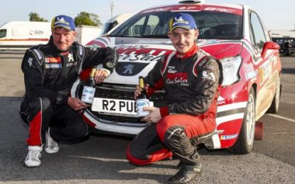 Runner-up placing for Kyle White on Junior British Rally Championship Debut