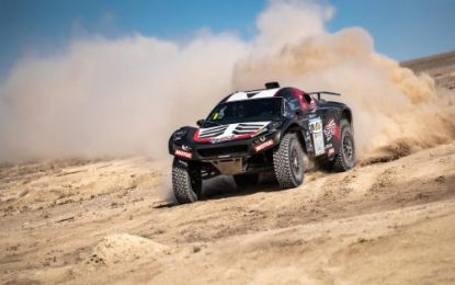 2021 Rally Kazakhstan; Husqvarna's Howes and CR6 Buggy driver Serradori claim wins on SS4