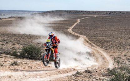 2021 Rally Kazakhstan – Leg 3; KTM's Sam Sunderland wins bike stage
