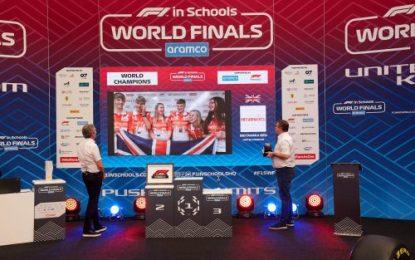 Ireland excels in Aramco F1 in Schools World Finals