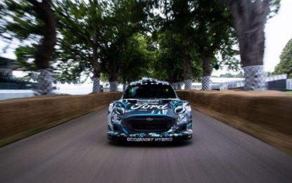 Ford & M-Sport Reveal New Puma Rally1 WRC Prototype; Electrifying Hybrid Performance
