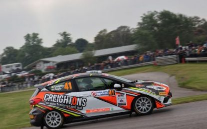 Creighton contests British Rally Championship & World Rally Championship events on successive weekends