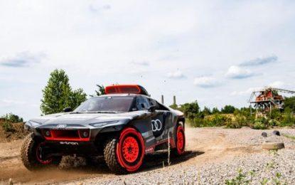 Revealed: Audi RS Q e-tron:  Dakar Rally prototype