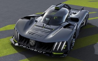 New PEUGEOT 9X8 Hypercar – Designed to race