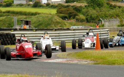 Jordan Dempsey does the F Ford double in Kirkistown