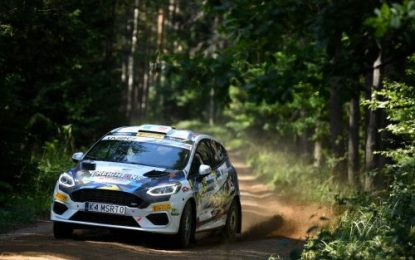 Creighton builds experience with Junior WRC Estonia outing