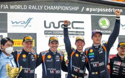 Fairytale 1-2 in Belgium for Hyundai Motorsport in Ypres WRC Rally – Breen second