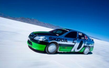 Record-breaking 'Salt spec' Octavia vRS Bonneville Special restored to former glory